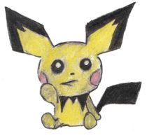 Pichu by Hop-is-my-Hero