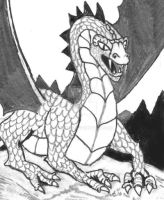 1e Red Dragon by vonmeer
