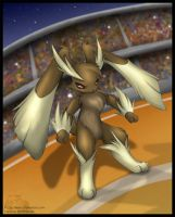 Lopunny in the stadium