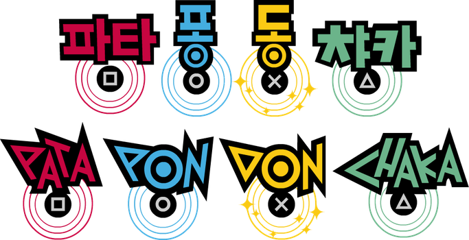 Patapon Drums With Korean Versions by Topaz-The-CrossCat73