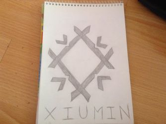 Xiumin's Symbol From MAMA Era: Frost by fantagerocks2013