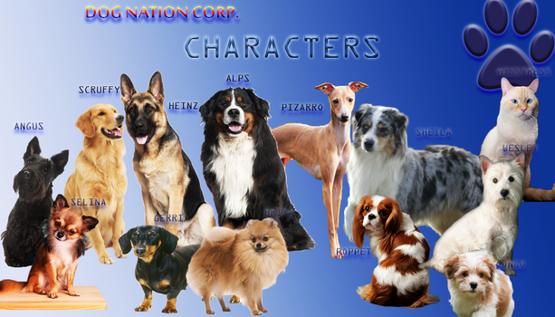 DOG NATION CORP Character profile by Cinemutt14