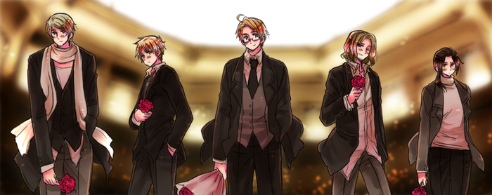 Gentlemen by Cioccolatodorima