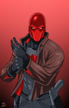 Red Hood commission by phil-cho