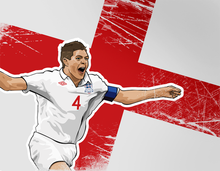 Gerrard - World Cup 2010 by LyriquidPerfection