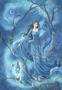 The Moonlight Spinner by MeredithDillman