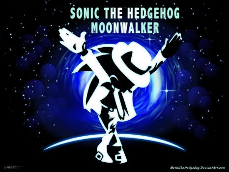 MJ Tribute: Sonic Moonwalker 2 by Metal-CosxArt