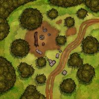 Simple campsite 20x20 by the-art-of-B