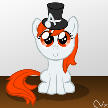 Filly Karma with Top Hat by Nyax