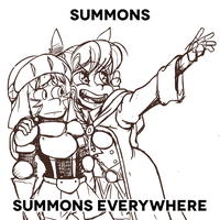 SUMMONS EVERYWHERE by The-Knick