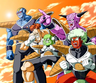 ginyu force by vansolt