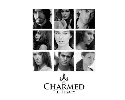 Charmed Legacy Black and White by INVINCIBLE-BTS