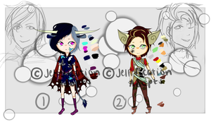 REDUCED - Manly Adopts - Set Price #2 (OPEN) by jellificationAdopts