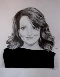 Tina Fey by Ly-Young