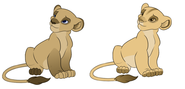 lion cub adopts OPEN by emio123456789