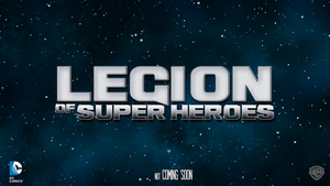 Legion of Super Heroes fanmade movie wallpaper by chronoxiong