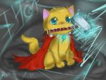 Thor Odinkitty by Checker-Bee