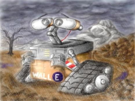 Wall-E by M2Art