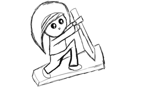 Practice Drawing Stephano. by Riyana2