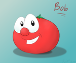 Bob the Tomato by veggiefangirl