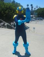 MegaMan.EXE At Anime Expo 2015 by R-Legend