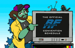 Convention Schedule 2018 (as of 9/15/18) by AlmightyRayzilla