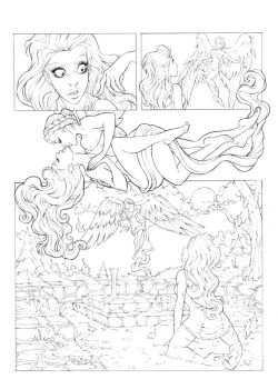 Veronica page02 pencil by andersonmahanski