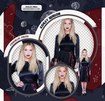 PACK PNG 568 | ASHLEY BENSON. by MAGIC-PNGS
