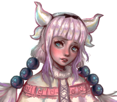 Kanna fan art by morgyuk