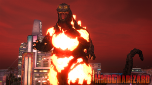 MMD Godzilla - PS3/PS4 Burning Godzilla +DL+ by MMDCharizard