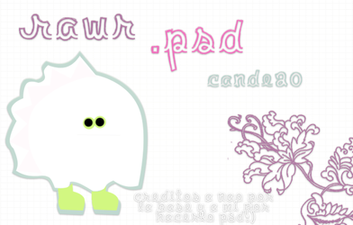 Rawr Moustrito PSD by Cande20