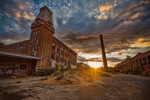 Abandoned cotton factory  by bartdebruyn