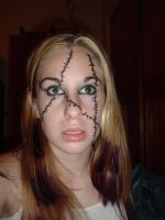 ..Stiched Face 5.. by Bloody-Kisses-STOCK