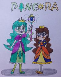 Pineora children-Cometia and Dawn by MayaButterfly
