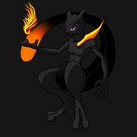 Shadow Mewtwo Complete by Genesis456