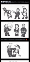 Mass Effect Moments - Unintended Assault by Skyflower51