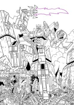 Overlord destroys Transformers Energon Inked by Berty-J-A