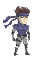 Solid Snake by supereva01