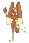 Request M.C Lopunny suit by Power1x