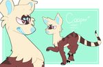 it was gonna be an adopt but i loved this boy by royalraptors