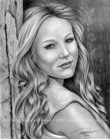 Jewel Kilcher Pencil Drawing by pat-mcmichael