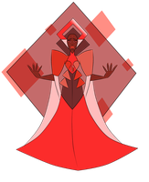 Red Diamond 2.0 by FableSpeaker