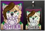 Commissions: Shira - badge by SaQe