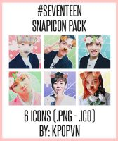 SEVENTEEN - SNAPIcon Pack by KpopVN