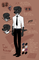 Toshi Mitsuya REFERENCE SHEET 2017 by Ziboe
