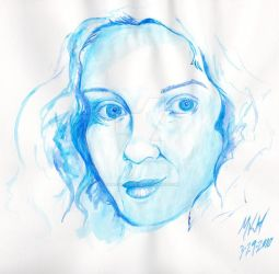 watercolor study 1st in series by chaotic-Pisces