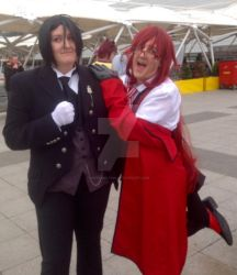 Grell And His Sebastian by Werewolf316