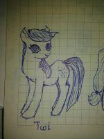 fanart: MLP If it was?.. Twiligh-NOT MY CHARACTER by WhiteLedy