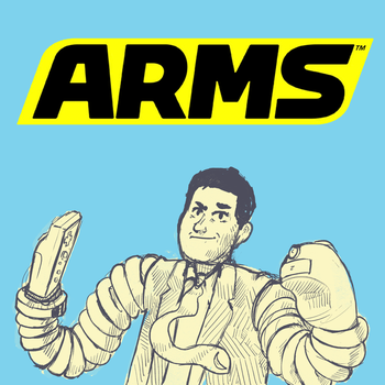 Reggie for Arms. by wandmeister