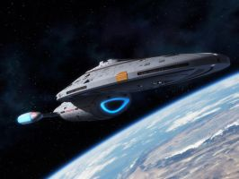 USS Voyager by thefirstfleet